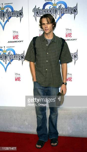 Jared Padalecki during Kingdom Hearts Video Game PreLaunch Party at W Hotel in Westwood California United States