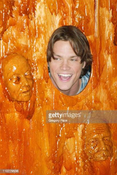 Jared Padalecki during The Cast of 'House of Wax' Launches 'Chamber Live Featuring House of Wax' at Madame Tussauds at Madame Tussauds in New York...