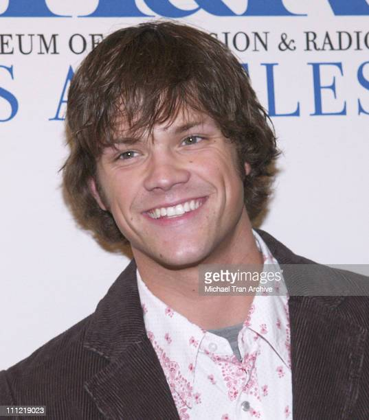 Jared Padalecki during The Museum of Television Radio Presents The 23rd Annual William S Paley TV Festival An Evening with 'Supernatural' at The...