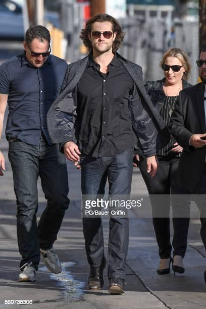 Jared Padalecki is seen on October 12 2017 in Los Angeles California