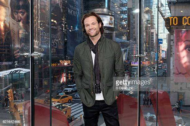 Jared Padalecki visits 'Extra' at their New York studios at HM in Times Square on November 7 2016 in New York City
