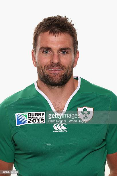Jared Payne of Ireland poses for a portrait during the Ireland Rugby World Cup 2015 squad photocall on June 28 2015 in Maynooth Ireland