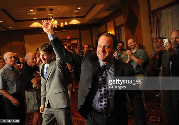 ELXN2NDCDPOLIS12 Jared Polis who is running as Democratic candidate for US Congress from Coloradoamptrades second Congressional District walks in...