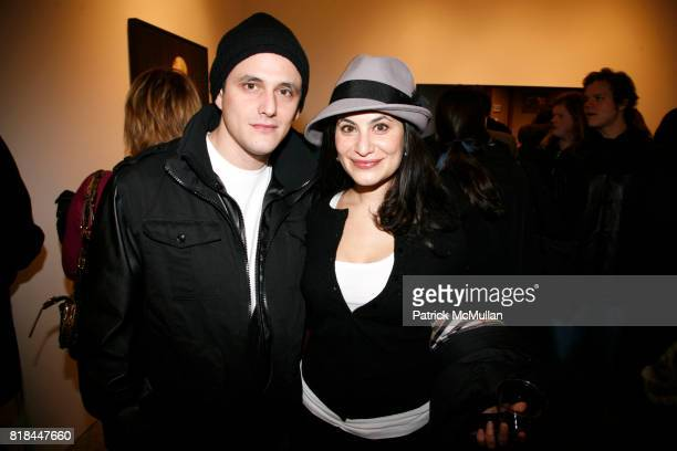 Jared Ryder and Megan Bienstock attend ERWIN OLAF Opening Reception at Hasted Hunt Kraeutler on January 28 2010 in New York