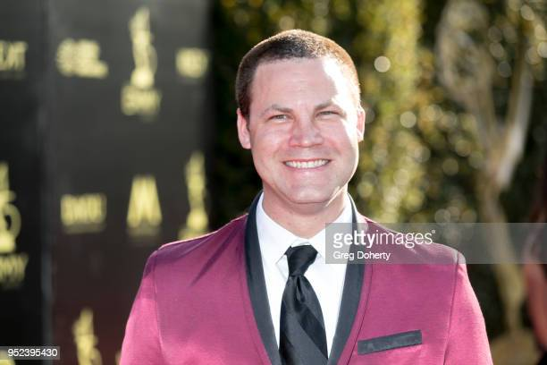 Jared Safier attends the 2018 Daytime Creative Arts Emmy Awards at Pasadena Civic Center on April 27 2018 in Pasadena Texas