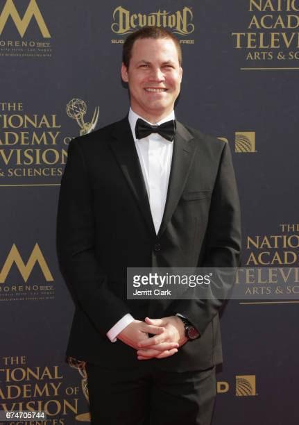 Jared Safier attends the 44th Annual Daytime Creative Arts Emmy Awards Arrivals at Pasadena Civic Auditorium on April 28 2017 in Pasadena California