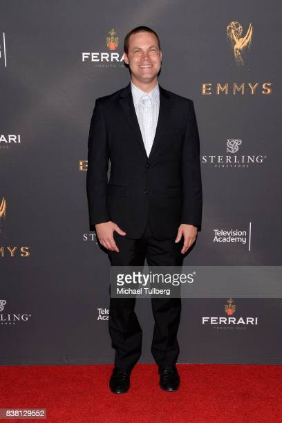 Jared Safier attends the Television Academy's cocktail reception with stars of daytime television celebrating the 69th Emmy Awards at Saban Media...