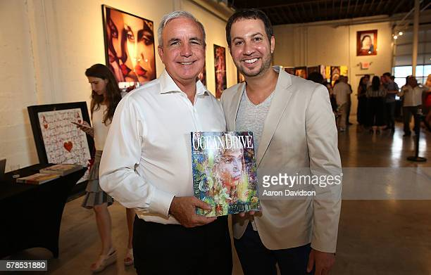 Jared Shapiro And Miami Mayor Tomas Regalado Attend Peter Tunney Ocean Drive Magazine Cover Debut At