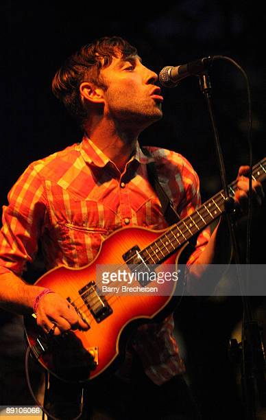 Jared Swilley of Black Lips performs during the 2009 Pitchfork Music Festival at Union Park on July 18 2009 in Chicago Illinois