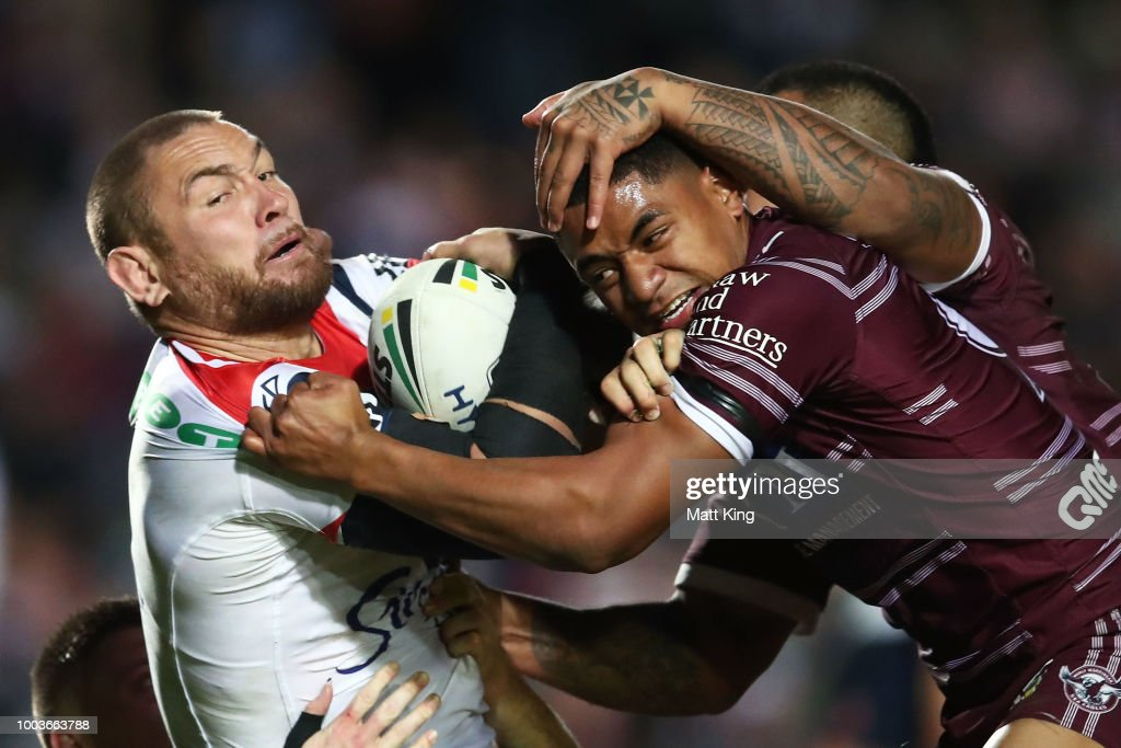 NRL Rd 19 - Sea Eagles v Roosters