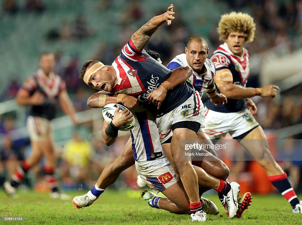 NRL Rd 9 - Roosters v Knights