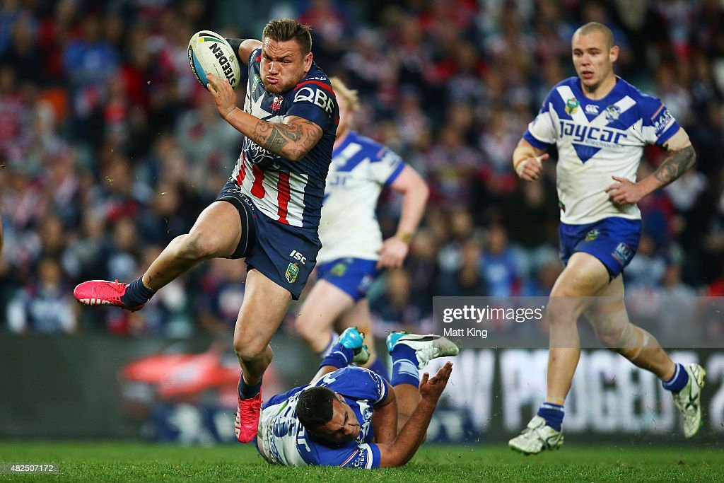 NRL Rd 21 - Roosters v Bulldogs