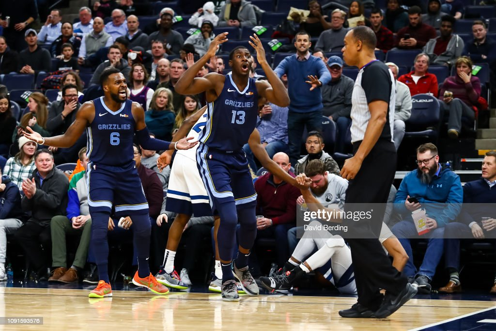 Memphis Grizzlies v Minnesota Timberwolves : News Photo