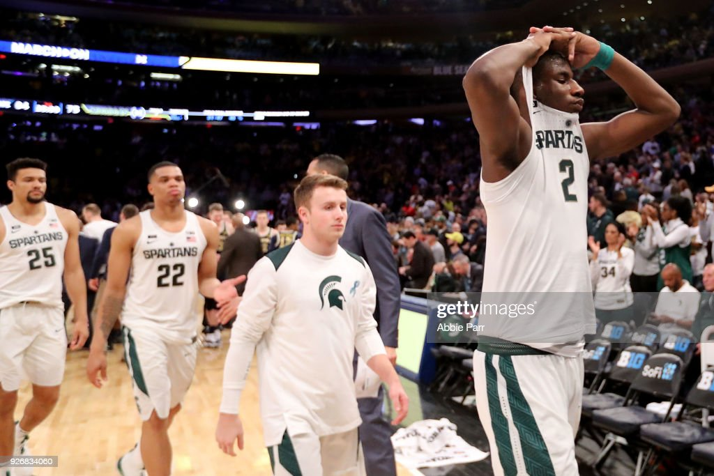 Big Ten Basketball Tournament - Semifinals