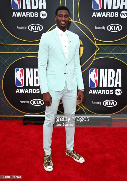 Jaren Jackson Jr attends the 2019 NBA Awards presented by Kia on TNT at Barker Hangar on June 24 2019 in Santa Monica California