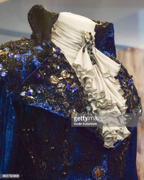 Jareth the Goblin King waistcoat at the press preview of The Jim Henson Exhibition Imagination Unlimited at Skirball Cultural Center on May 30 2018...