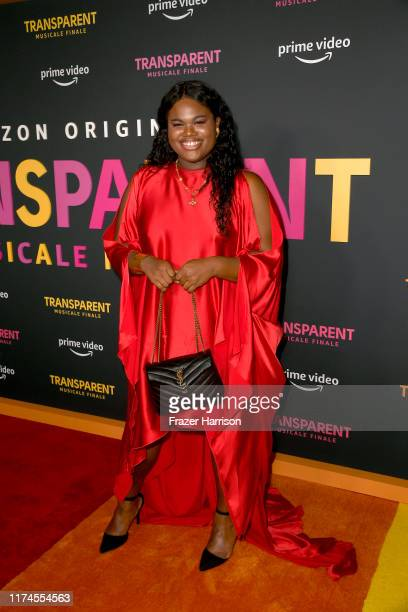 Jari Jones arrives at the LA Premiere Of Amazon's Transparent Musicale Finale at Regal LA Live on September 13 2019 in Los Angeles California