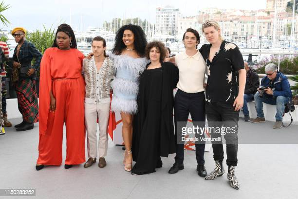 Jari Jones McCaul Lombardi Lenya Bloom Danielle Lessovitz Fionn Whitehead and William Dufault attend the photocall for Port Authority during the 72nd...
