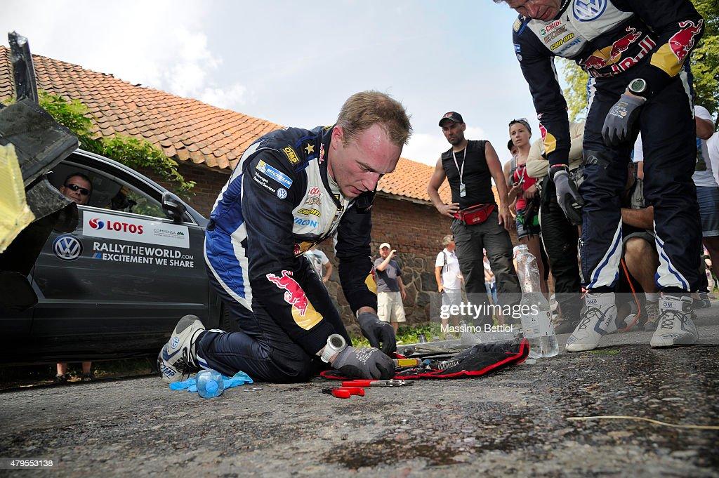 FIA World Rally Championship Poland - Day Three : News Photo