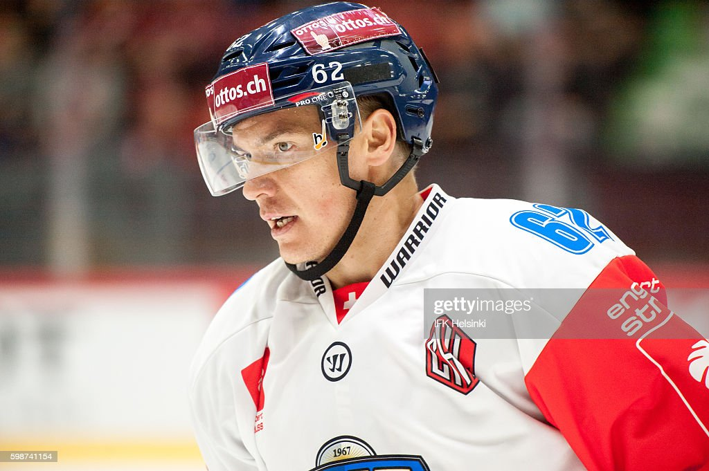 IFK Helsinki v EV Zug - Champions Hockey League : News Photo