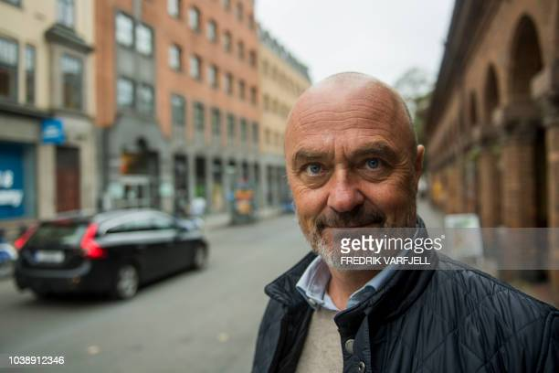 Jarle Aabo a public relations executive and Yes to Cars in Oslo newsletter writer poses for a picture on September 6 2018 in Oslo Determined to go...