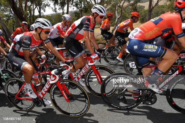 Jarlinson Pantano of Colombia and Team TrekSegafredo / Koen de Kort of The Netherlands and Team TrekSegafredo / during the 21st Santos Tour Down...