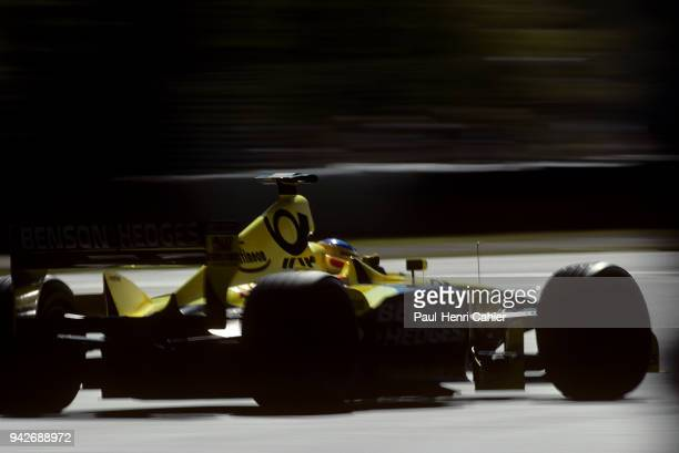 Jarno Trulli JordanHonda EJ11 Grand Prix of Australia Albert Park Melbourne Grand Prix Circuit 04 March 2001