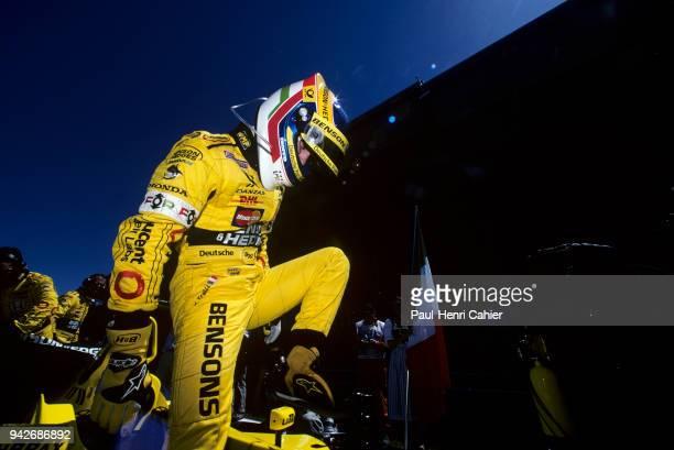 Jarno Trulli JordanHonda EJ11 Grand Prix of Austria A1Ring Spielberg 13 May 2001