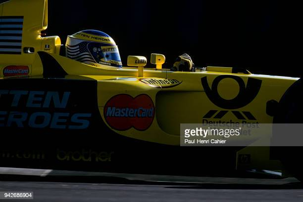 Jarno Trulli JordanHonda EJ11 Grand Prix of the United States Indianapolis Motor Speedway 30 September 2001