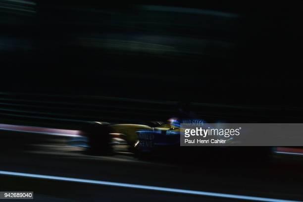 Jarno Trulli Renault R202 Grand Prix of Italy Autodromo Nazionale Monza 15 September 2002