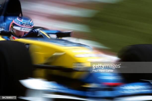 Jarno Trulli Renault R202 Grand Prix of Spain Circuit de BarcelonaCatalunya 28 April 2002