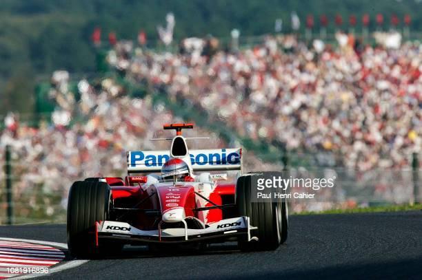Jarno Trulli Toyota TF104B Grand Prix of Japan Suzuka Circuit 10 October 2004