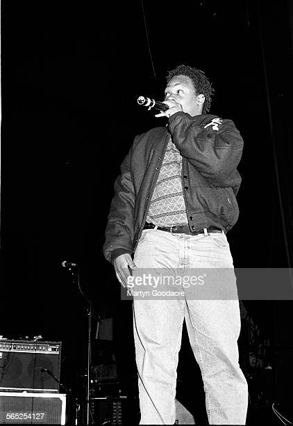 Jarobi White of A Tribe Called Quest performs on stage London United Kingdom 1990