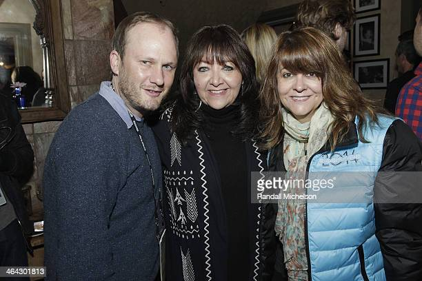 Jarom Rolland Doreen RingerRoss and Tracey McKnight attend the BMI Zoom dinner at Zoom Restaurant on January 21 2014 in Park City Utah