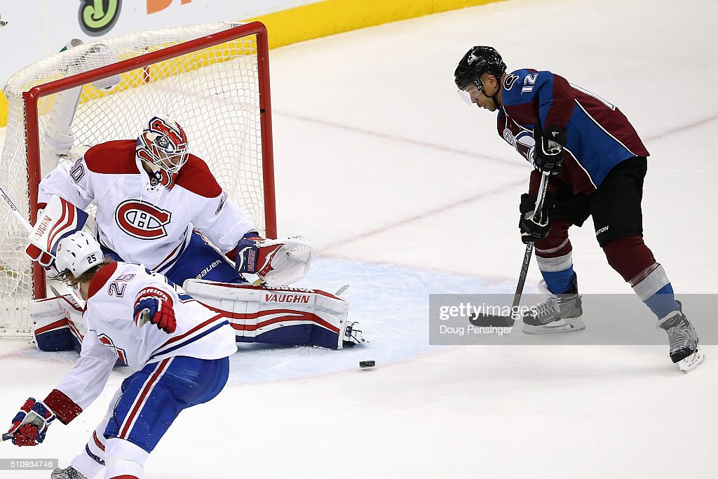 Montreal Canadiens v Colorado Avalanche : News Photo