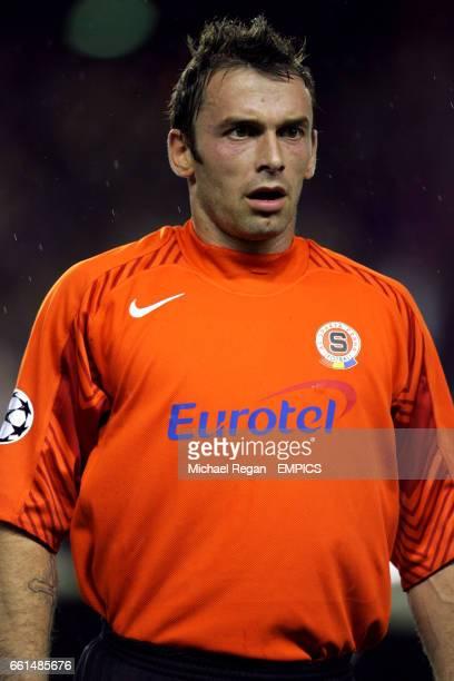 Jaromir Blazek Sparta Prague goalkeeper