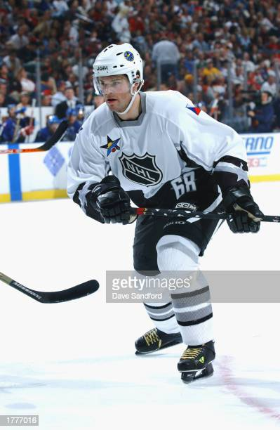 Jaromir Jagr of the Eastern Conference All-Stars skates in the first period against the Western Conference All-Stars during the 53rd NHL All-Star...