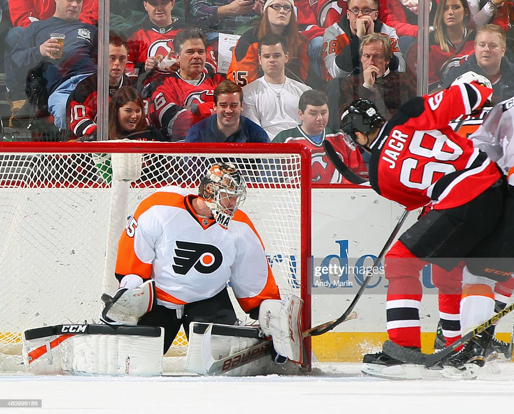 promo code fdb3d 42e00 Jaromir Jagr of the New Jersey Devils scores his 3rd goal of ...