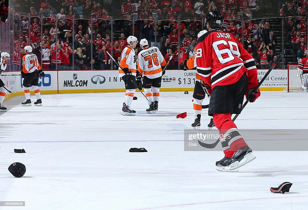 Philadelphia Flyers v New Jersey Devils : ニュース写真