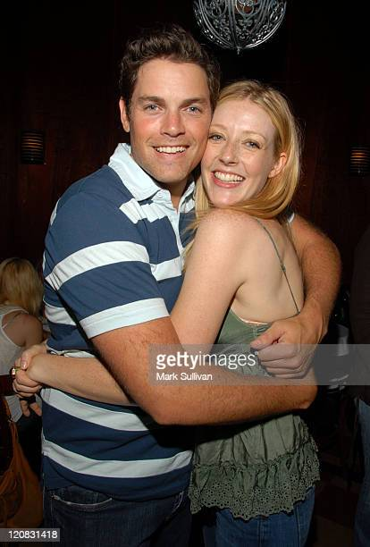 Jaron Lowenstein and Jennifer Finnigan during Evan & Jaron at Hotel Cafe - June 22, 2006 at Hotel Cafe in Hollywood, California, United States.
