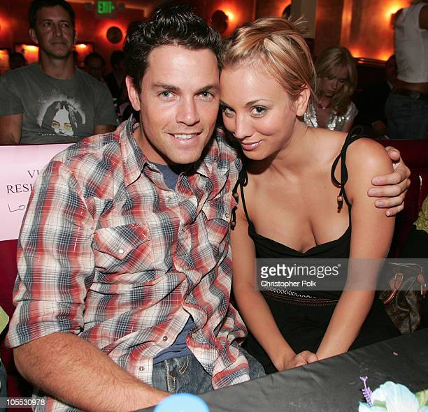 Jaron Lowenstein and Kaley Cuoco *Exclusive Coverage*