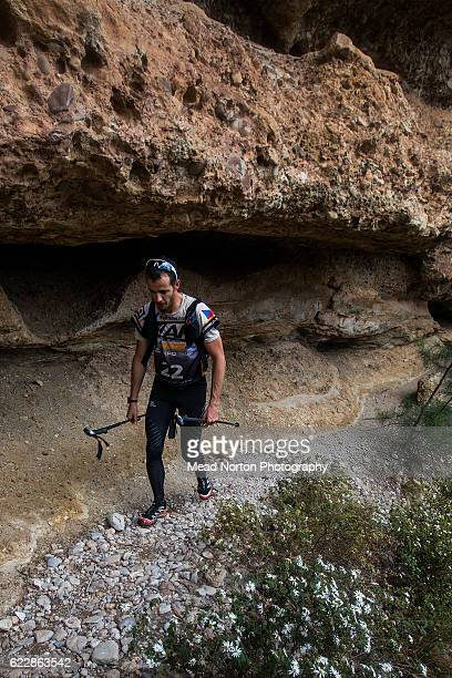 Jaroslav Krajnik from Team Black Hill/OpavaNET from Czech Republic hiking up to 'The Castle' in Morton National Park during the Adventure Race World...
