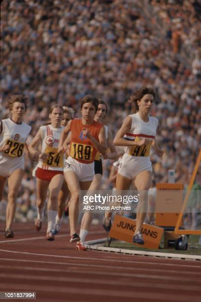Jaroslava Jehlicková Glenda Reiser Ilja Keizer Joan Allison competing in the Women's 1500 metres event at the 1972 Summer Olympics / the Games of the...