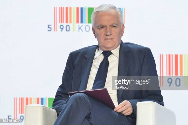 Jaroslaw Gowin Minister of Science and Higher Education and Deputy Prime Minister ahead of the 15th edition of the Economic Award of the President of...