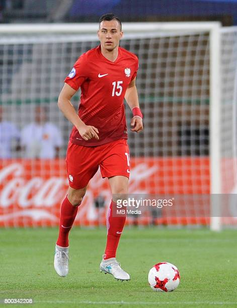 Jaroslaw Jach during the UEFA European Under21 match between England and Poland at Kolporter Arena on June 22 2017 in Kielce Poland