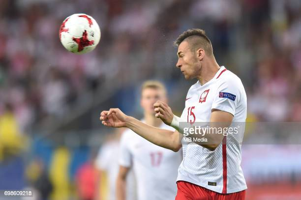 Jaroslaw Jach during the UEFA European Under21 match between Poland and Sweden at Arena Lublin on June 19 2017 in Lublin Poland