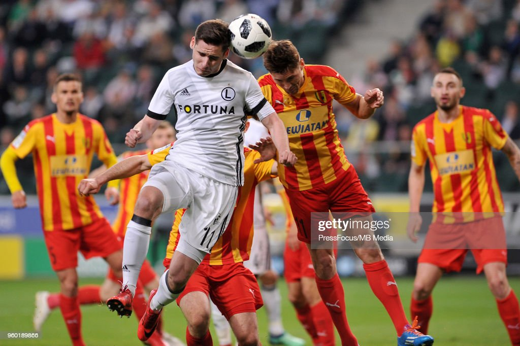 Legia Warsaw vs Korona Kielce : News Photo