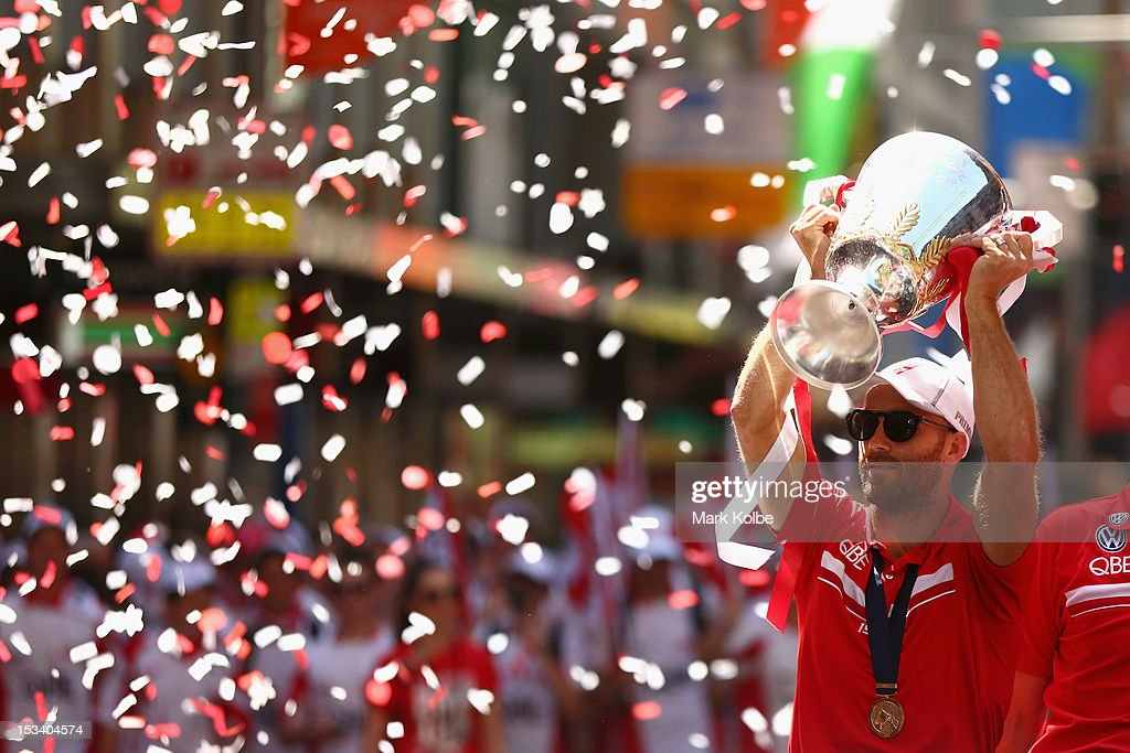 Sydney Swans AFL Grand Final Street Parade