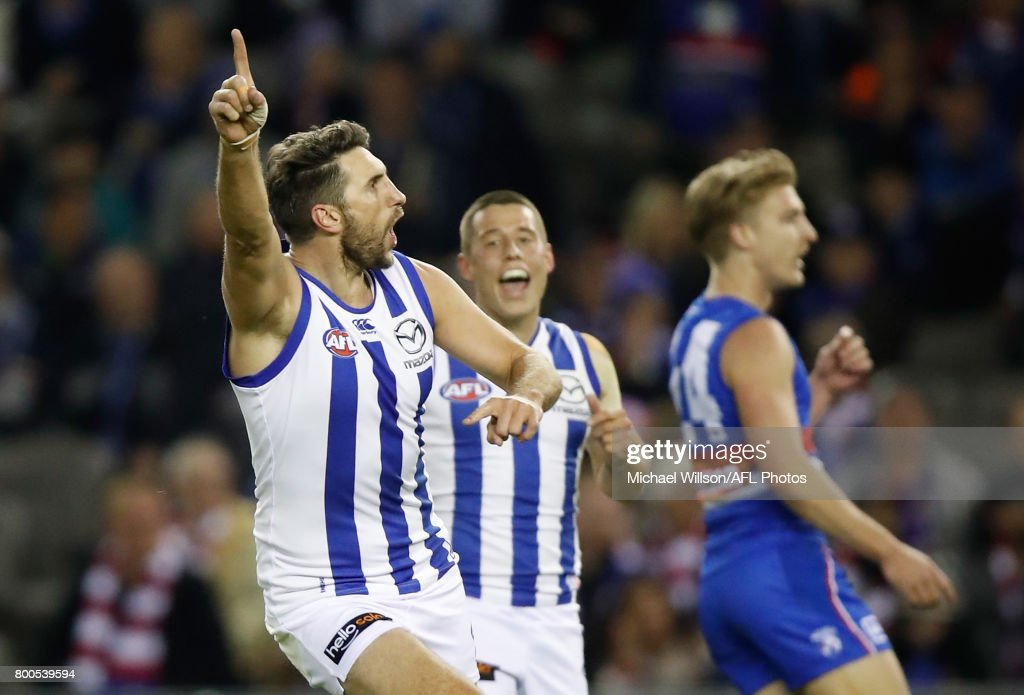 AFL Rd 14 - Western Bulldogs v North Melbourne