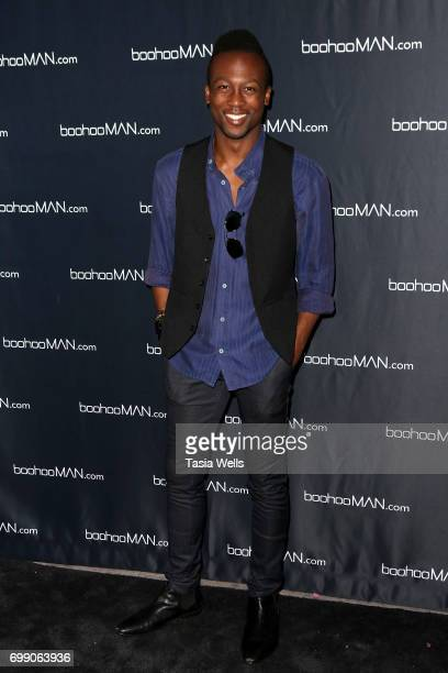 Jarred Tettey attends the launch party for boohooMAN starring Tyga on June 20 2017 in Los Angeles California